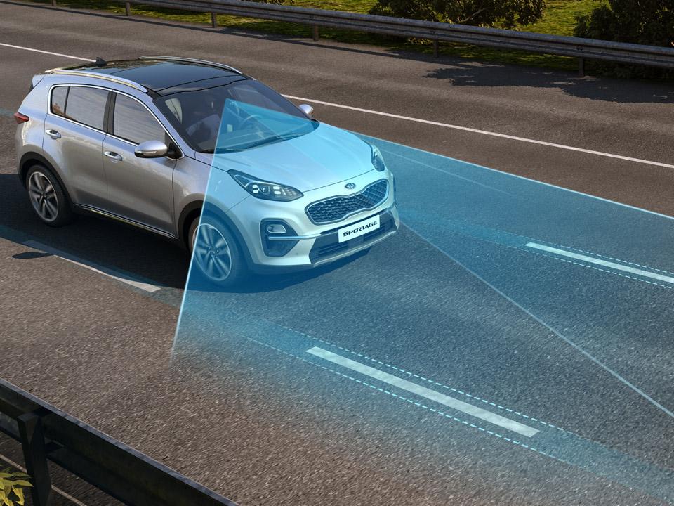 Sistem de păstrare a benzii de rulare (LKA - Lane Keeping  Assist) + Sistem monitorizare și avertizare atenție șofer (DAW - Driver Atttention Warning) + Sistem de asistare pentru faza lungă (High Beam Assist)