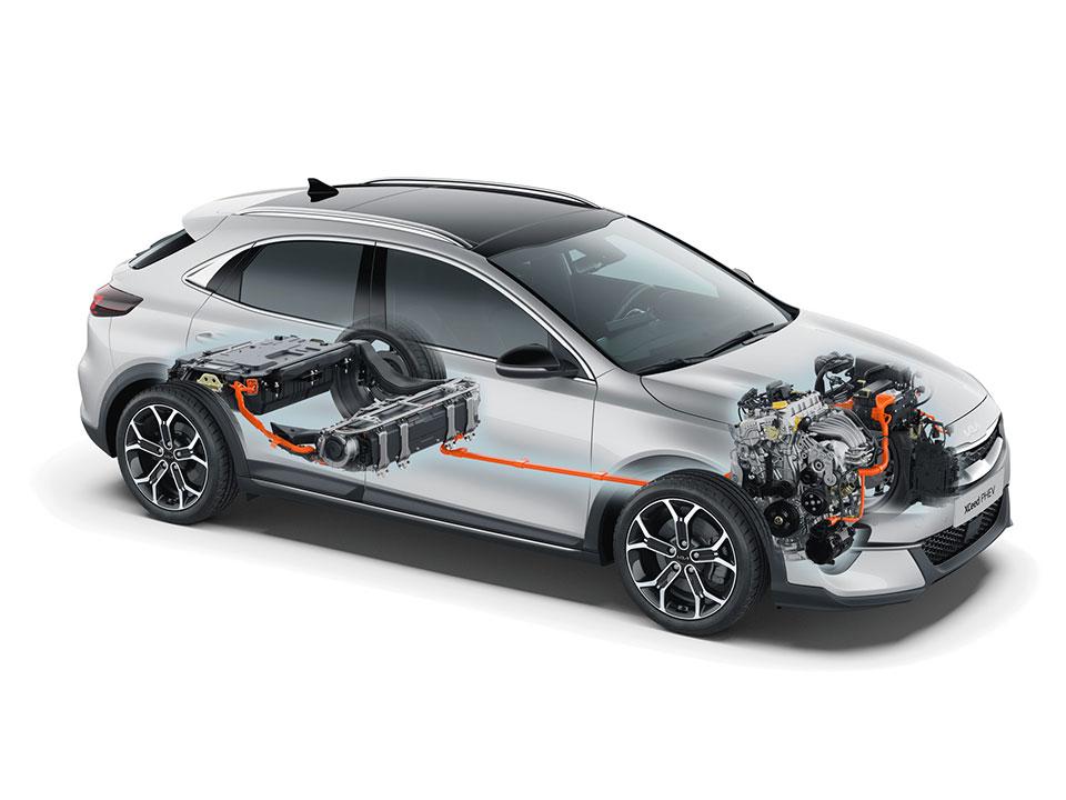 Kia XCEED PHEV: automobilul hibrid modern